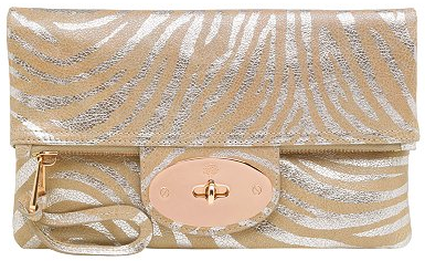 mulberry baywater Mulberry tiger print Bayswater clutch