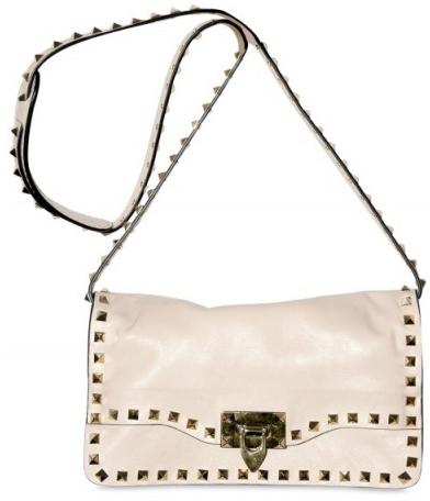 af4a3d8844a6 Calfskin Studded bag clutch by Valentino £832