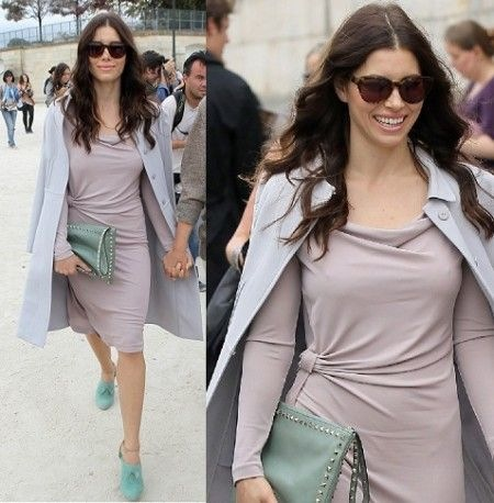Valentino clutch jessica biel Valentino Studded Crossbody Shoulder bag