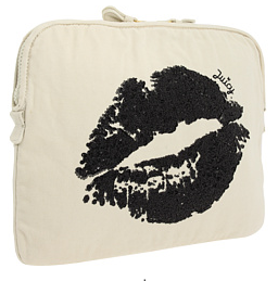 juicy couture sugar kiss canvas laptop sleeve Juicy Couture Sugar Kiss Laptop Sleeve