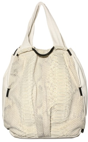 De Couture Nappa and Python Tote De Couture Nappa and Python Tote