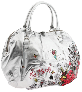 Ed Hardy Secret Garden Blake Satchel Ed Hardy Secret Garden Blake Satchel