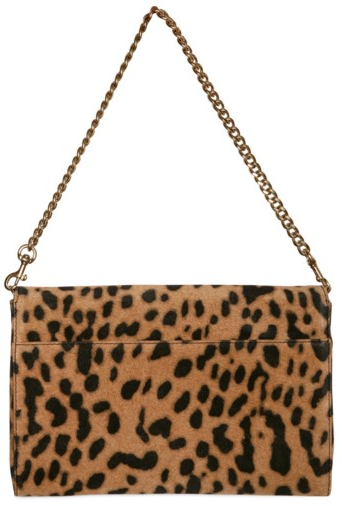 Givenchy Evening Leopard Print Lamb Clutch Givenchy Evening Leopard Print Lamb Clutch