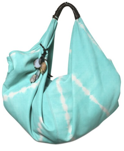 Lagalma Tie Dyed Leather Hobo1 Lagalma Tie Dyed Leather Hobo