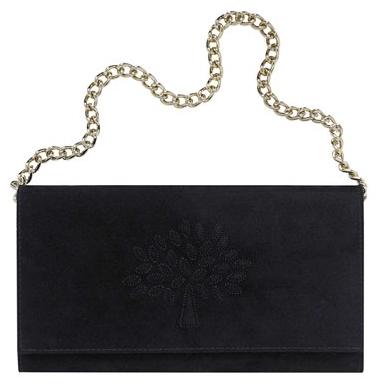 Mulberry Black Ava with Tree Handbag Mulberry Black Ava with Tree Handbag