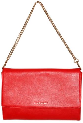 givenchy shoulder bag Givenchy Evening Shiny Lambskin shoulder bag