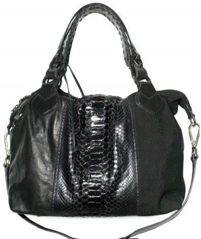 Pauric Sweeney Python Overnight tote