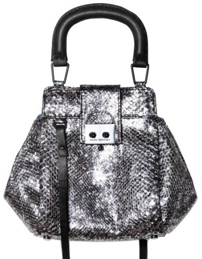 Pautric Sweeny Shiny Python Crossbody Shoulder Bag Pautric Sweeny Shiny Python Crossbody Shoulder Bag