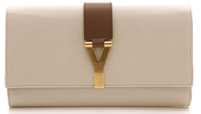 Yves Saint Laurent Canvas Clutch Yves Saint Laurent Canvas Clutch