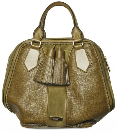 Burberry Prorsum olive green Luggage Bowling Bag Burberry Prorsum olive Luggage Bowling Bag