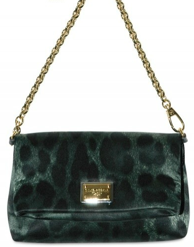 Dolce Gabbana Satin Leopard Mini Shoulder Bag Dolce & Gabbana Satin Print Leopard Mini Shoulder Bag