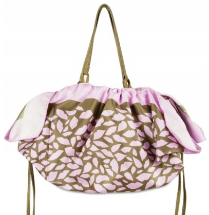 Red Valentino Printed Satin Shopper Red Valentino Printed Satin Shopper
