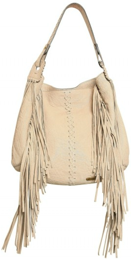 Roberto Cavalli Leather fringed shoulder bag Roberto Cavalli Leather fringed shoulder bag