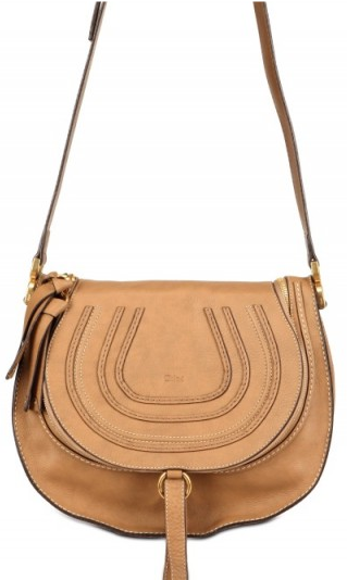 chloe nut marcie small Chloe Small Marcie Cross body bag