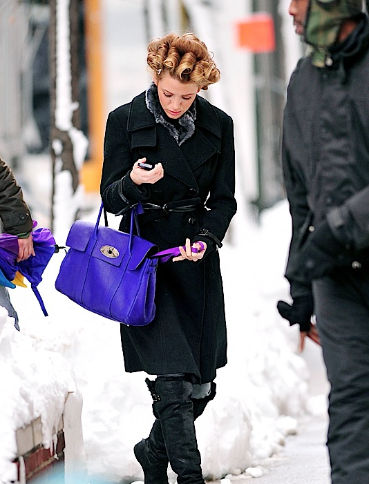 Blake Lively Mulberry Bayswater Blake Lively Mulberry Bayswater