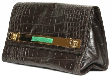 Borbonese Croco Calfskin Clutch The Borbonese Croco Print Calfskin Clutch is super Hot!