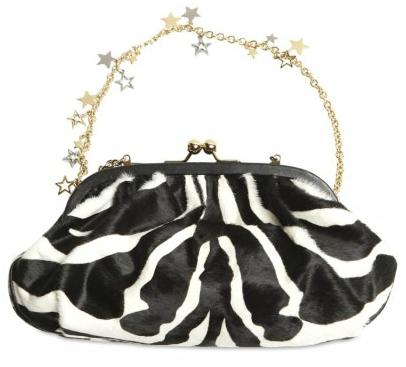 Dolce Gabbana Zebra Ponyskin Miss Dea Clutch Dolce Gabbana Zebra Print Ponyskin Miss Dea Clutch