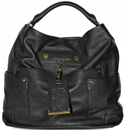 Marc by Marc Jacobs Faridah Preppy Leather Hobo Marc by Marc Jacobs Faridah Preppy Leather Hobo