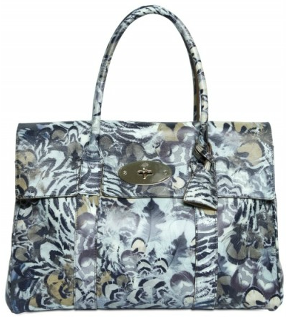 Mulberry Bayswater Feather print bag Mulberry Bayswater Feather print bag