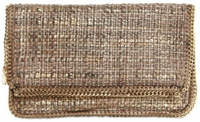 Stella McCartney Metallic Boucle Stella McCartney Metallic Boucle Clutch