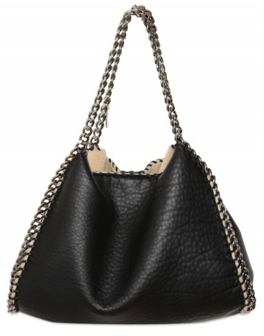 Stella McCartney falabella shearling bag Stella McCartney Falabella Shearling Bag