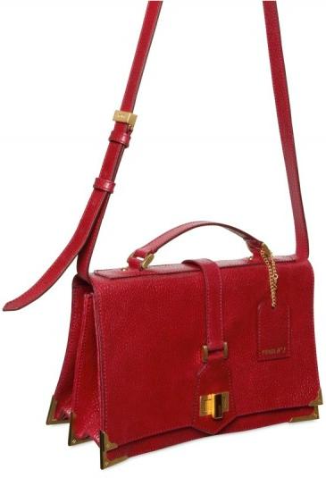 Fendi classico embossed shoulder bag Fendi Classico Embossed Shoulder Bag
