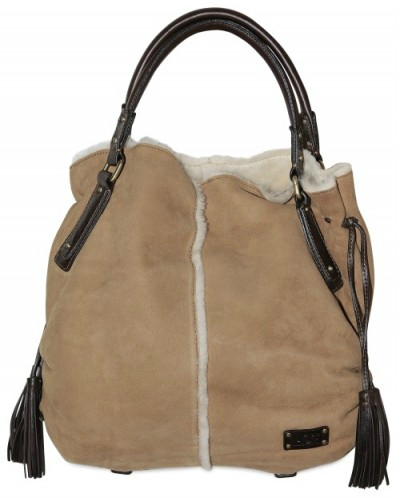 UGG Australia Shearling Shopper UGG Shearling Shopping Tote
