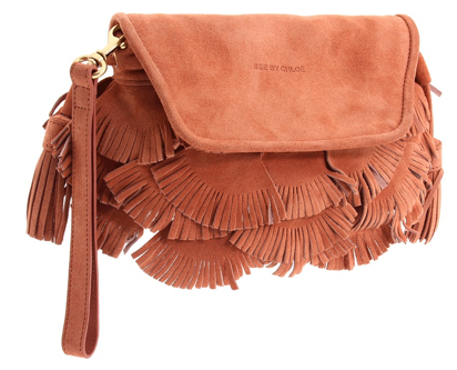 See by chloe Fluffy Cherry Party Clutch See by Chloe Fluffy Cherry Party Clutch