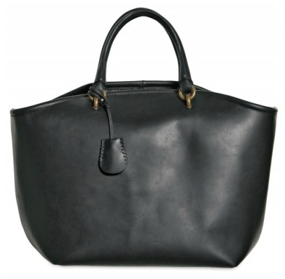 Vanessa Bruno Waxed Calf Leather Tote Vanessa Bruno Waxed Calf Leather Tote