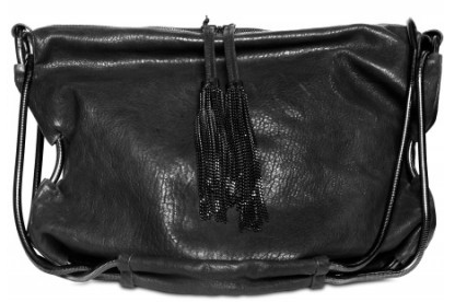 De Couture Cracked Shiny Lambskin Shoulder Bags De Couture Cracked Shiny Lambskin Shoulder Bag