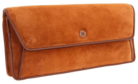 Marc by Marc Jacobs Airmail Suede Long Clutch Marc by Marc Jacobs Airmail Suede Long Clutch