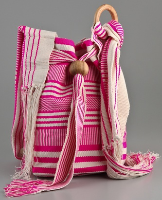 Wayuu Taya Foundation Morroa Bag Wayuu Taya Foundation Morroa pink Bag