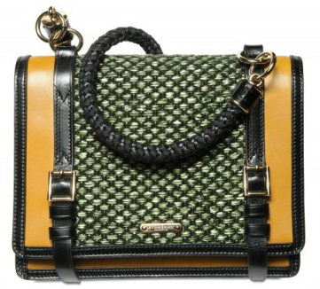 Burberry Prorsum Raffia Christie Shoulder Bag Burberry Prorsum Raffia Christie Shoulder Bag