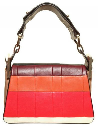 Chloe Mini Jade Bag The unusual patchwork Chloe Jade wide strap mini shoulder bag