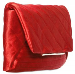 Lanvin Satin Patchwork Evening clutch red Lanvin Satin Patchwork Evening clutch