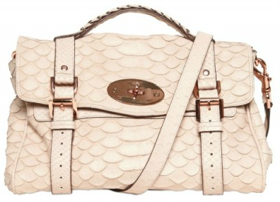 Mulberry Alexa Silky Snake Print Tote Mulberry Alexa Silky Snake Print Tote