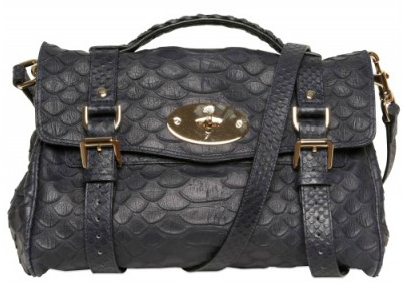 Mulberry Alexa Silky Snake Print Totes Mulberry Alexa Silky Snake Print Tote