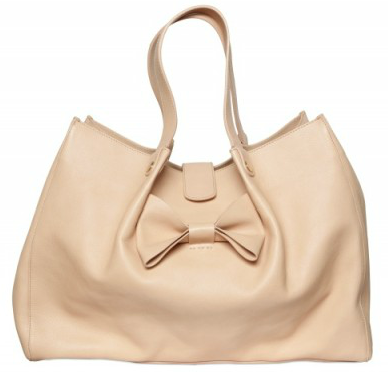 Red Valentino Leather Bow Tote Red Valentino Leather Bow Tote
